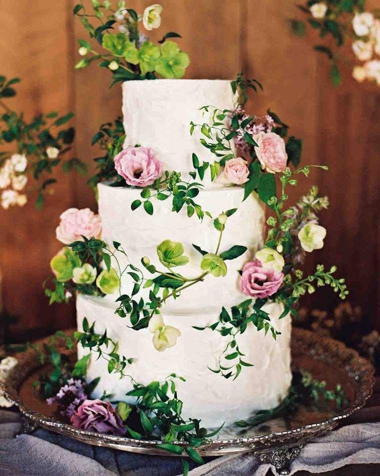 pastel-decorado-rosas-ramas-opciones