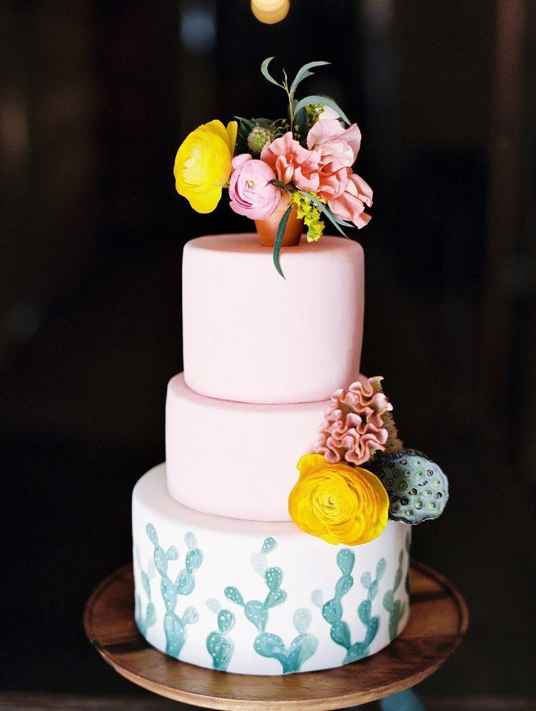 Pasteles Para Boda Decorados Con Flores 60 Imagenes De