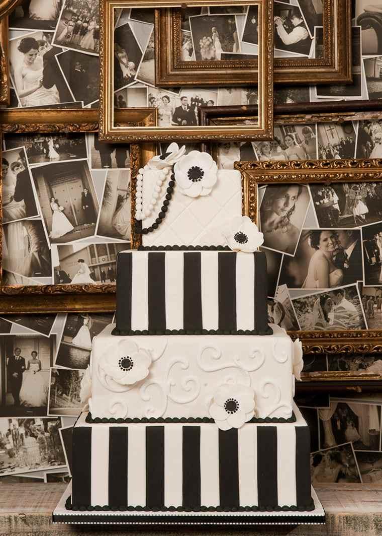 pasteles-de-boda-opciones-blanco-negro