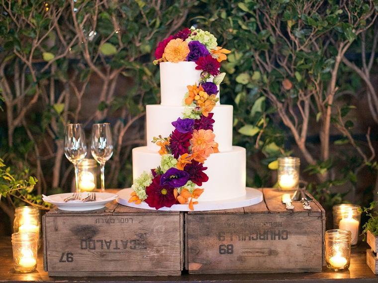 pasteles para boda-flores-opciones-otono