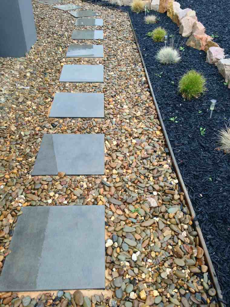 gardens with gravel and stones