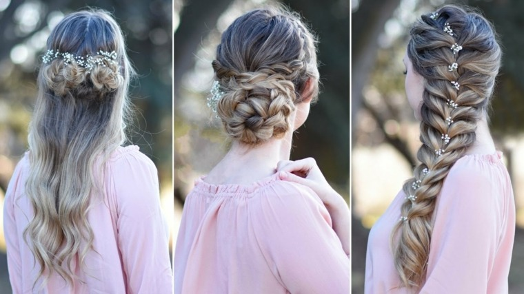 peinado sencillos con trenzas-bodas