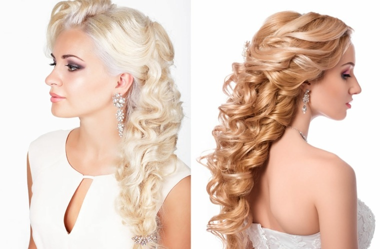 peinados con cabello recogido-novias