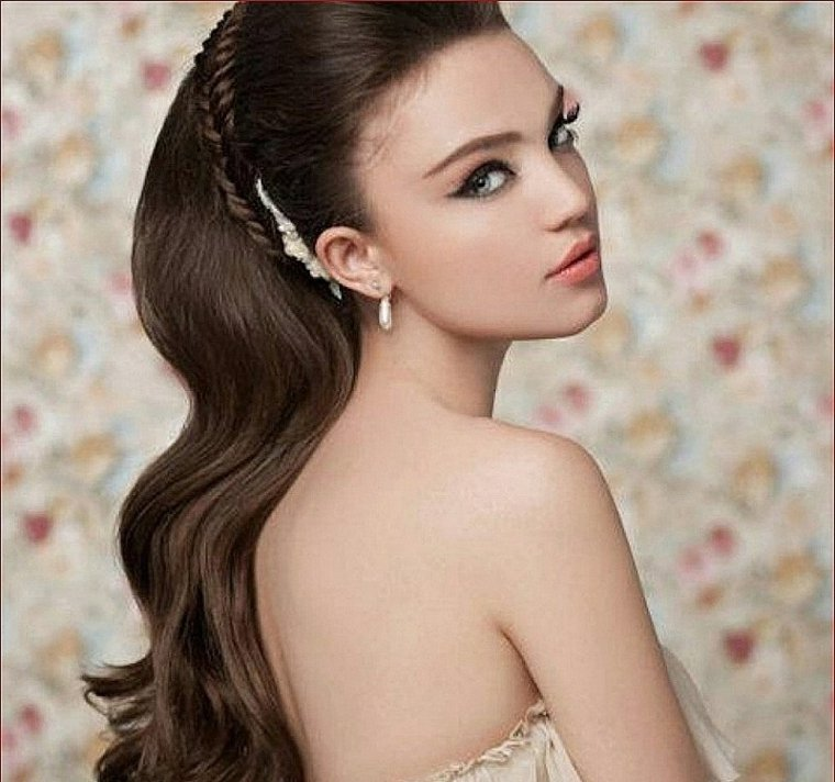 peinados con pelo recogido-novias