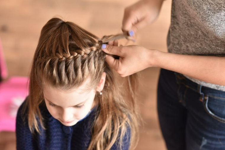 Peinados Con Pelo Recogido Modernos Para Niñas