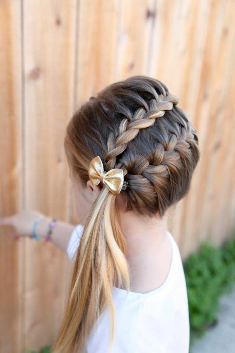 Peinados con todo el cabello recogido