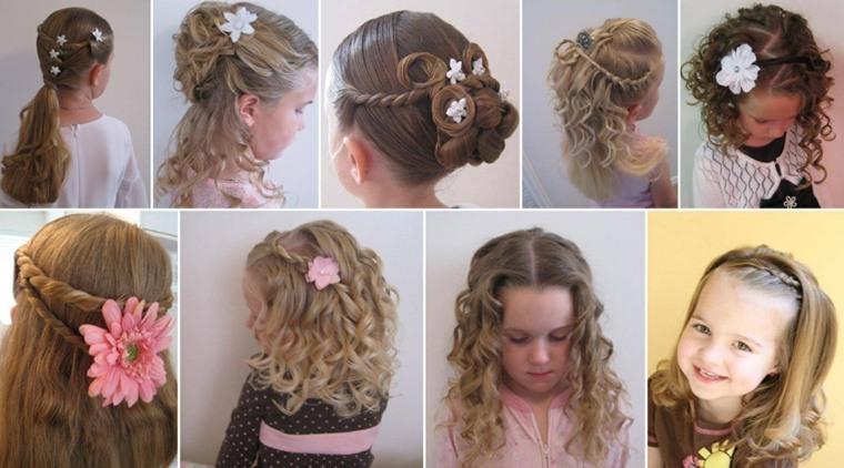 peinados con pelo recogido variantes