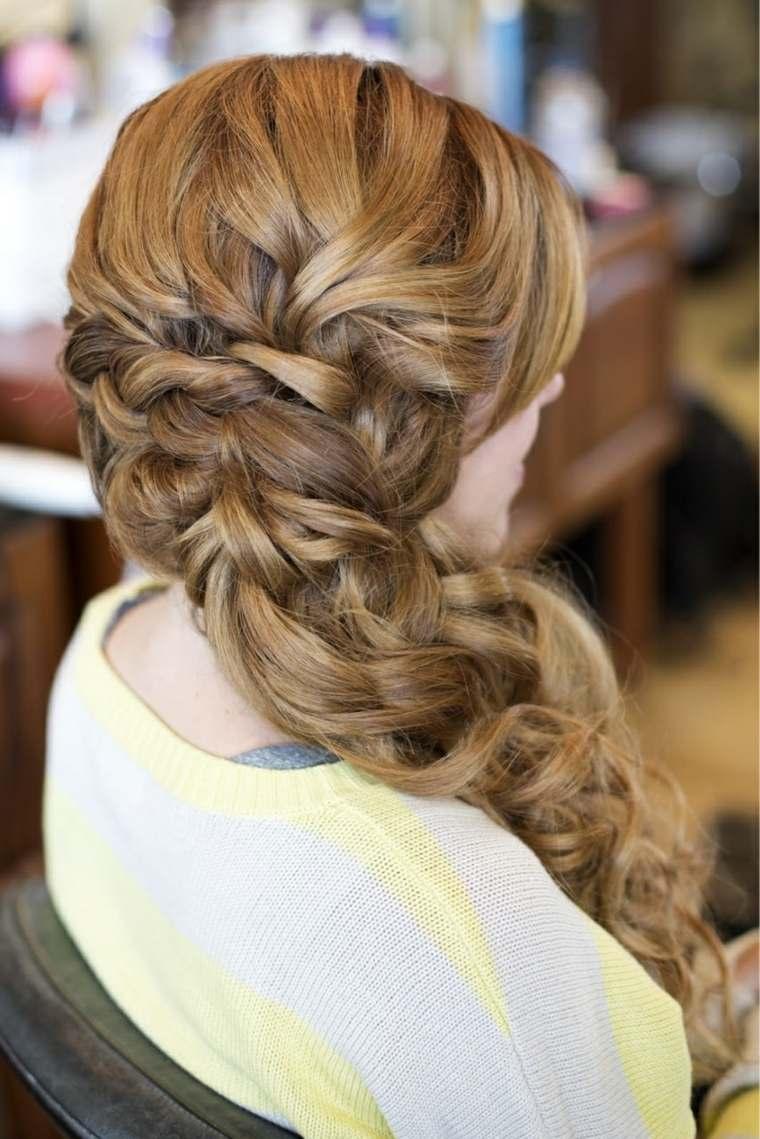 peinados de boda-mujeres-pelo-largo