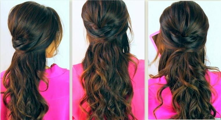 peinados de boda-pelo-largo