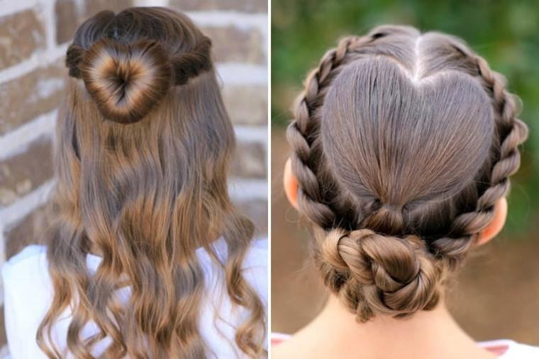 Peinados Con Pelo Recogido Modernos Para Ninas
