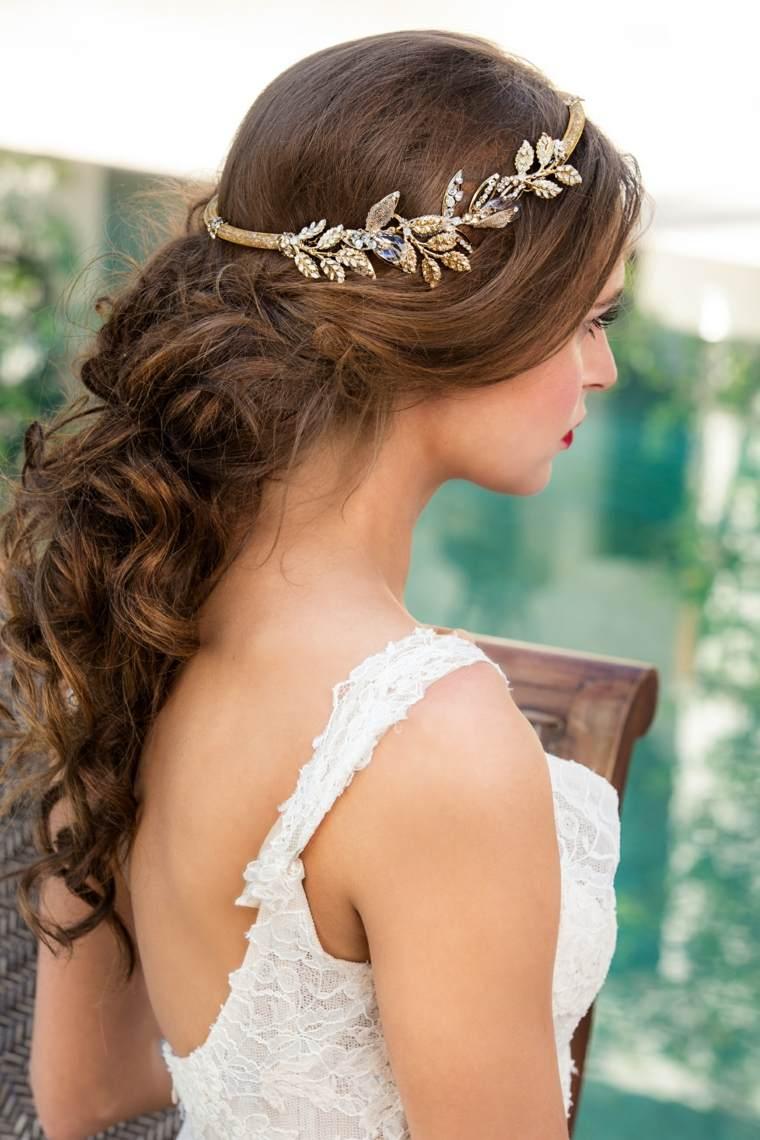 peinados de novia semirecogidos-elegantes