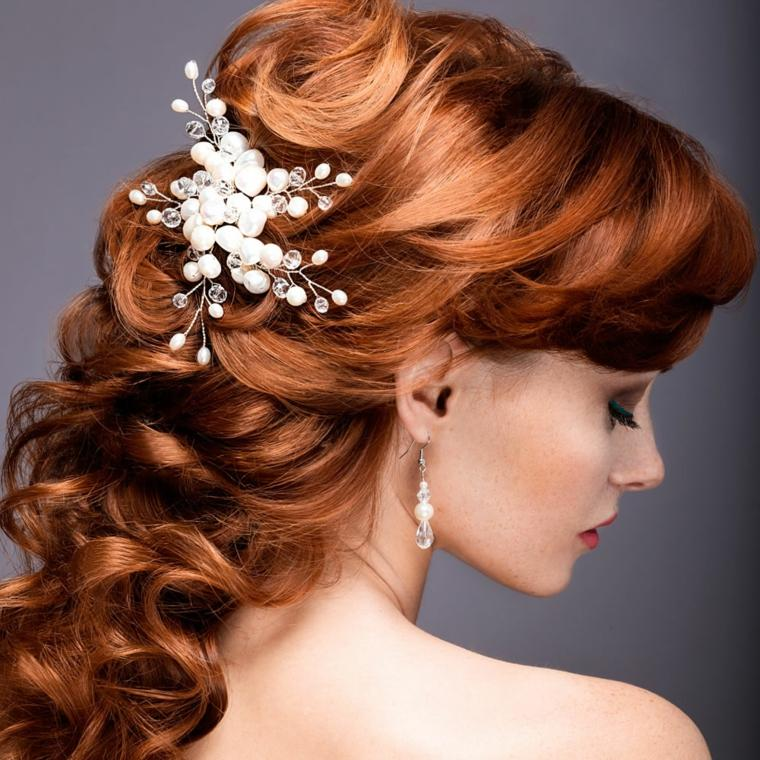 peinados de novia semirecogidos-modernos