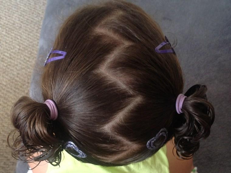 peinados de trenzas para ninas-coletas