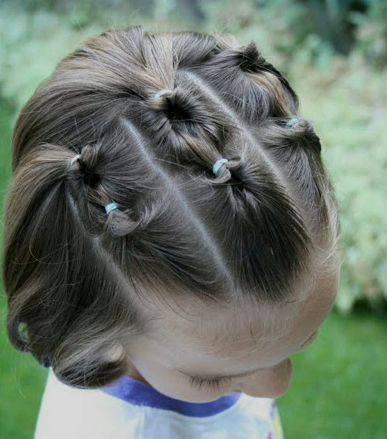 peinados de trenzas para ninas-pequenas