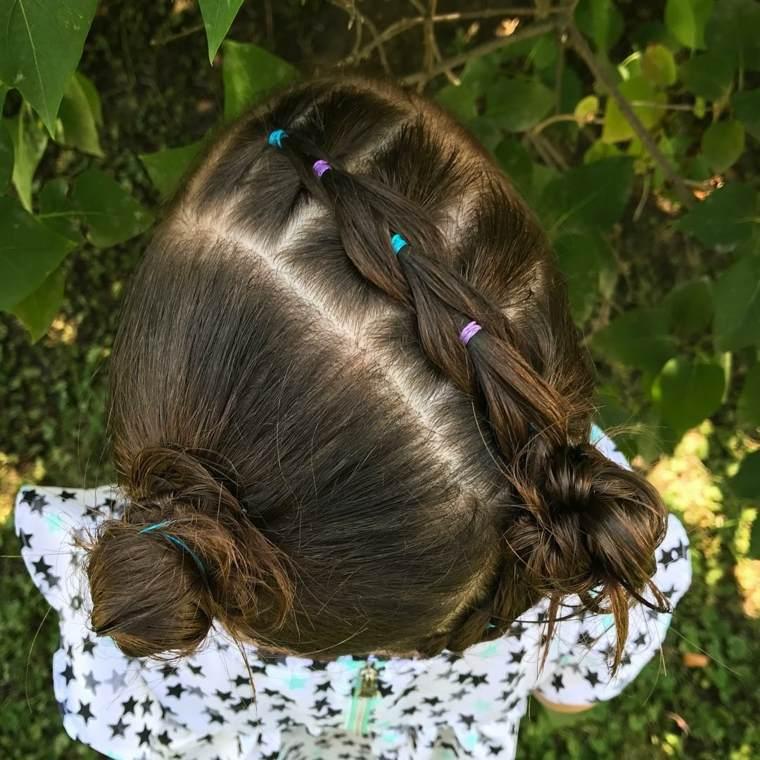 peinados faciles para ninas-pequenas