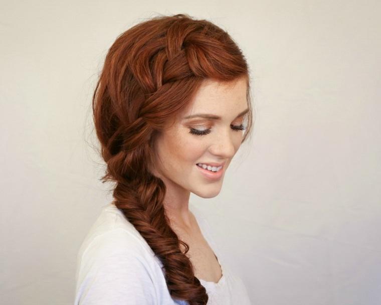 peinados medio recogidos-pelo-largo