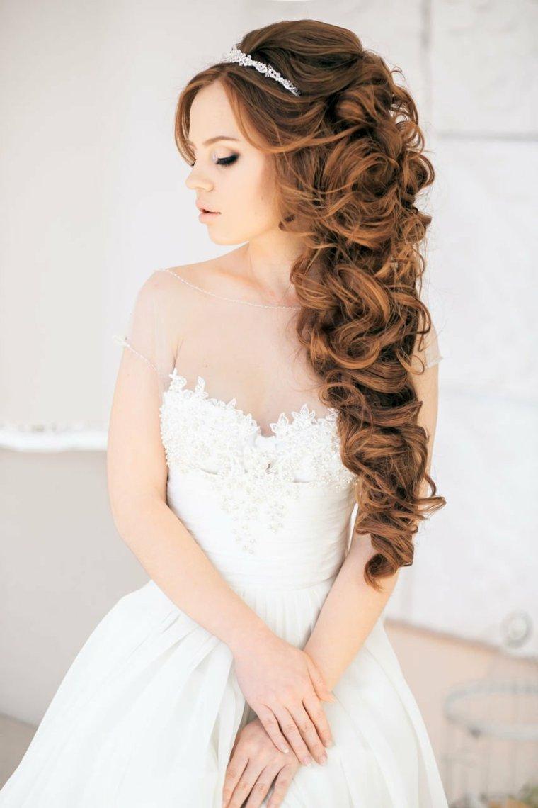 peinados medio recogidos-pelo-rizado