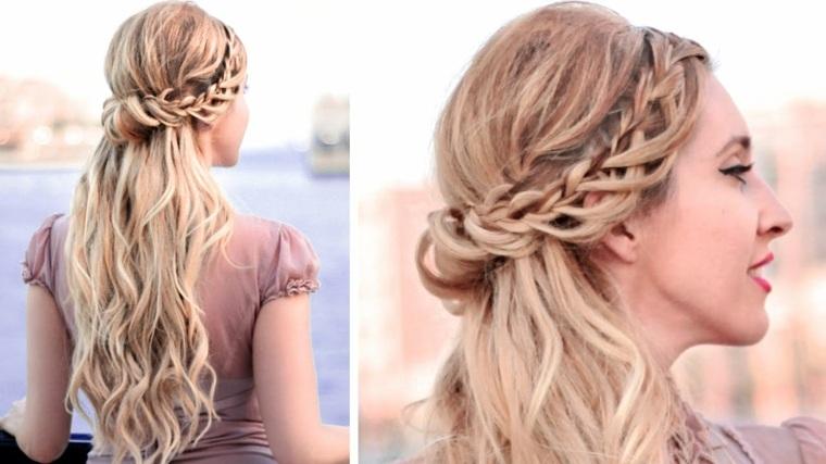 peinados modernos con trenzas-bodas