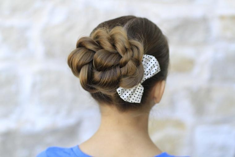 peinados modernos con trenzas-mujeres