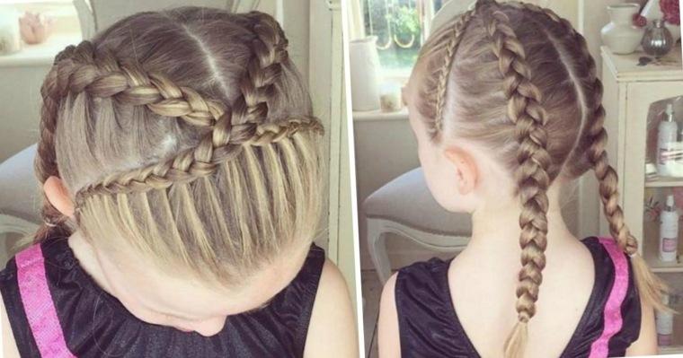 peinados ninas-trenzas-pelo-largo