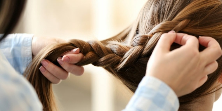 peinados para fiesta-media-trenza