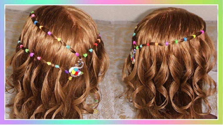 Peinados De Nina Muy Modernos Originales Y Faciles De Hacer