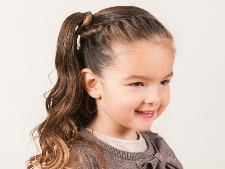 peinados para ninas-pelo-largo