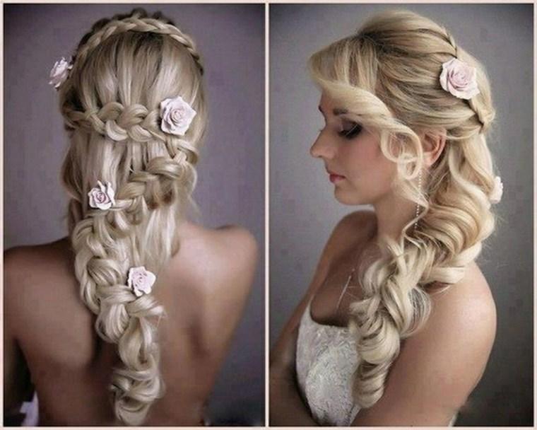 peinados para novias con velo-modernas