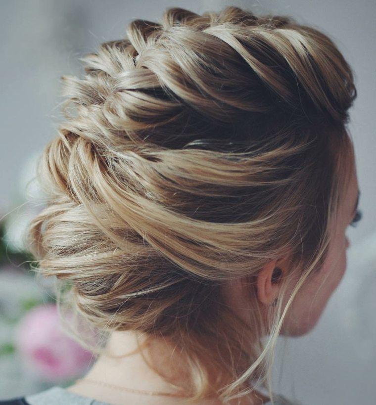 peinados para novias-pelo-recogido
