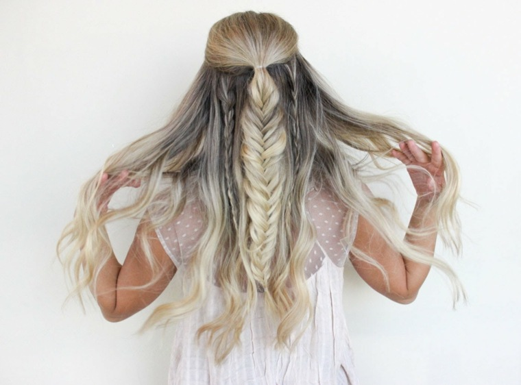 peinados recogidos con trenzas-mujeres-boda
