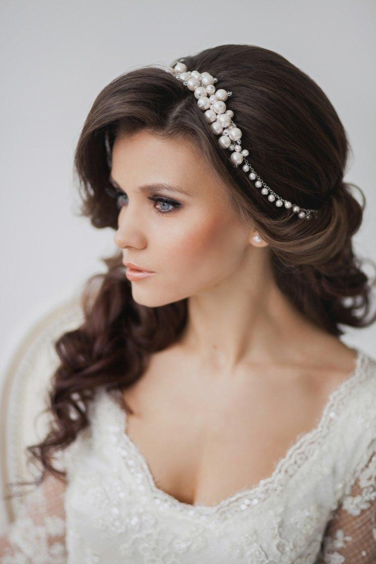 peinados recogidos de moda-novias