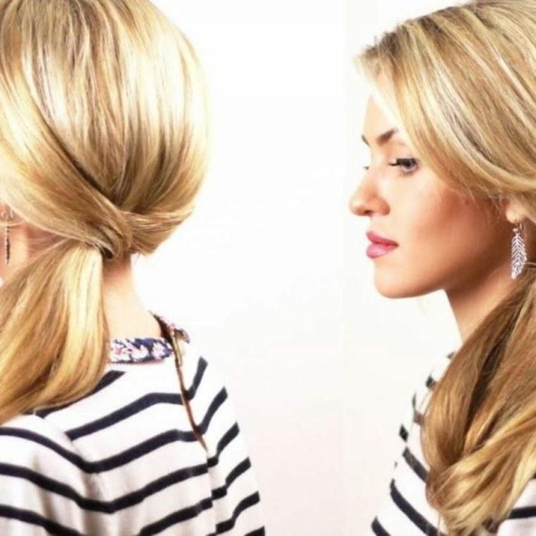 peinados recogidos-fiesta-sencillos