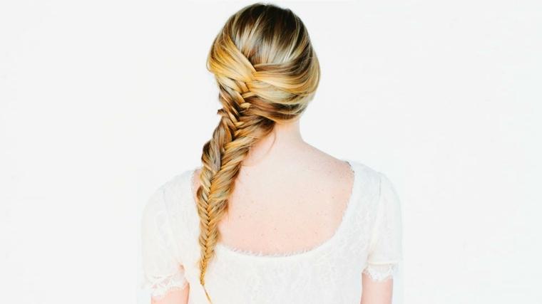 peinados recogidos-modernos-trenza