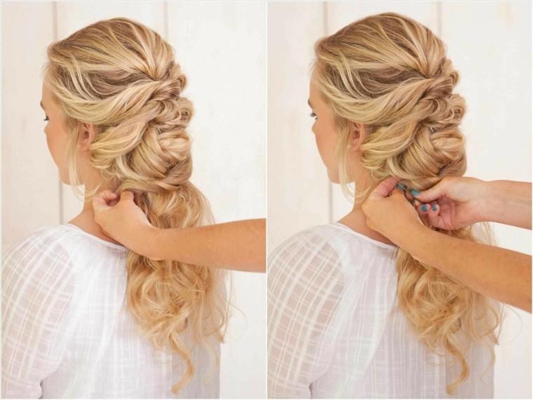 peinados semirecogidos con trenzas-bodas