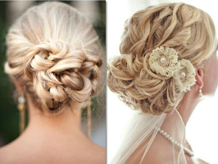 peinados semirecogidos con trenzas-novias