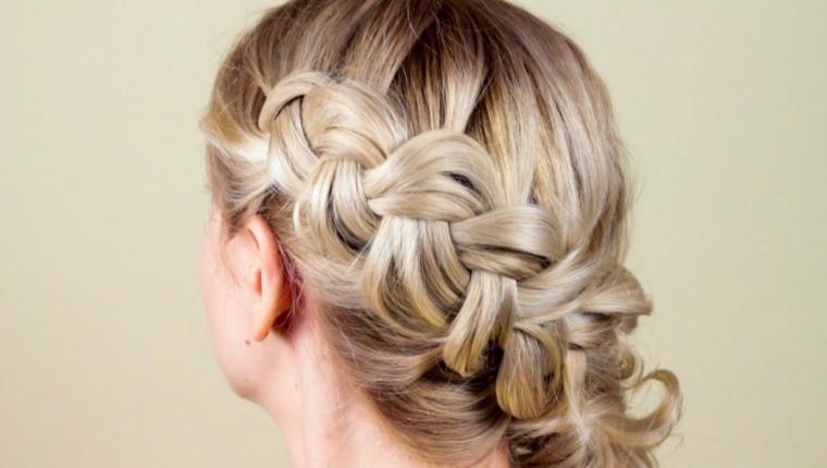 peinados semirecogidos-recogidos-trenzas-laterales