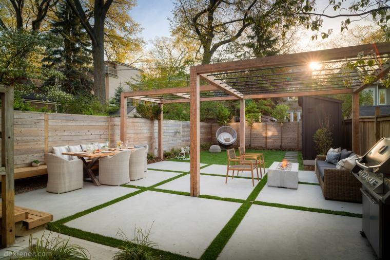 pergola-jardin-madera-acero-opciones