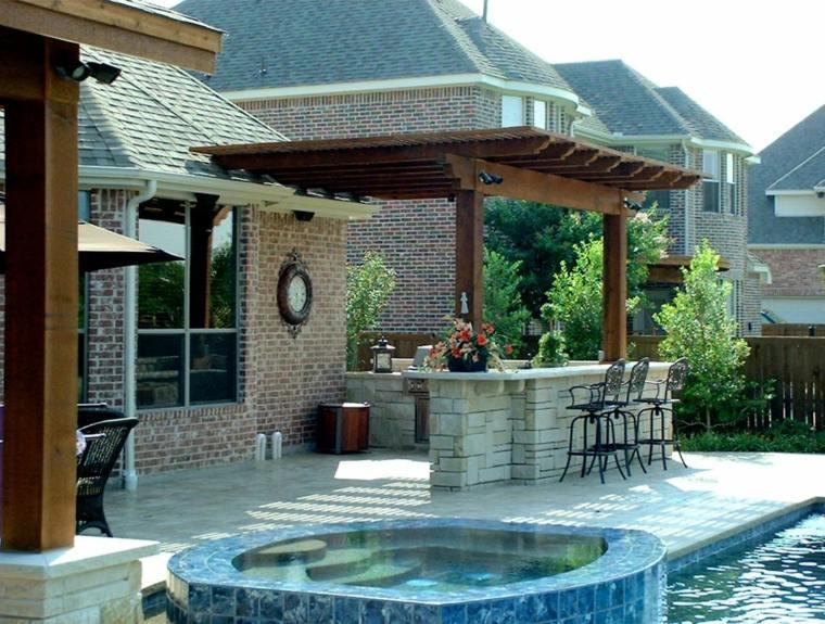 pergola-madera-comectada-techo-casa-opciones