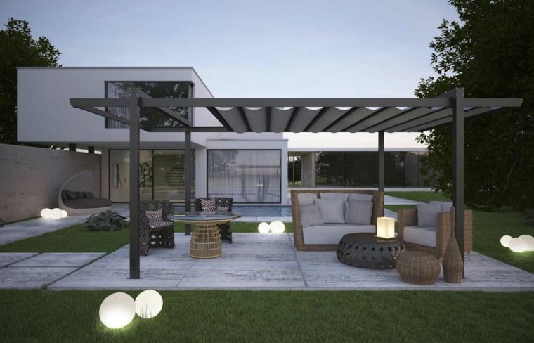 pergola-opciones-tela-techo-estilo-moderno