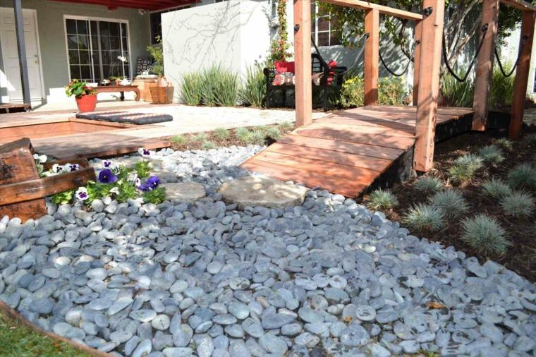 ideas for gardens with gravel