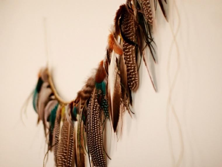 Guirnalda de pluma
