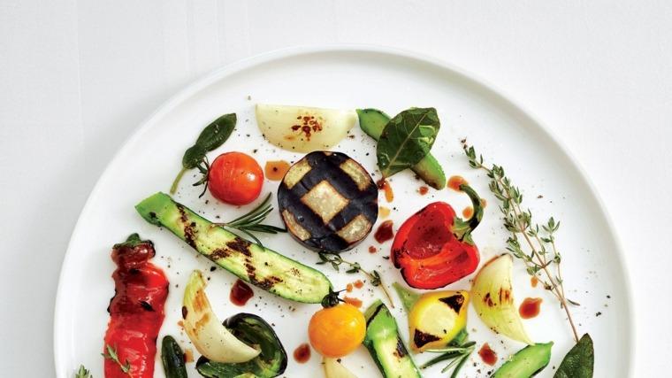 Recetas de comida sana de Alain Passard con verduras