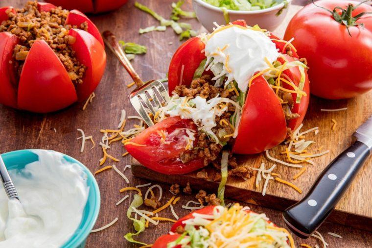 propiedades del tomate-cocido