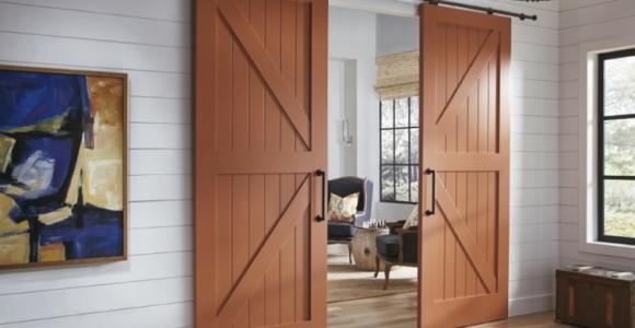 ¿Cómo hacer puertas para interiores corredizas tipo granero?