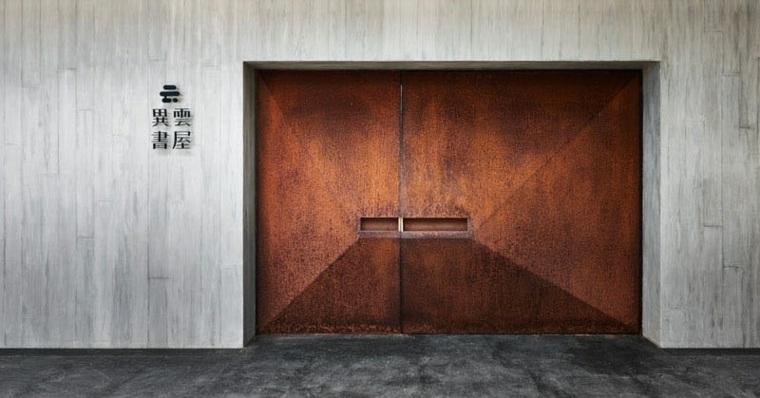 puertas de entrada principal conceptos modernos