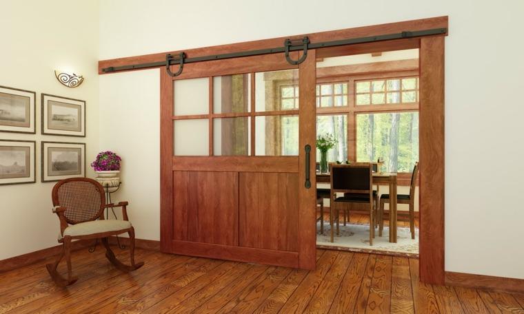 puertas para interiores corredizas de-madera