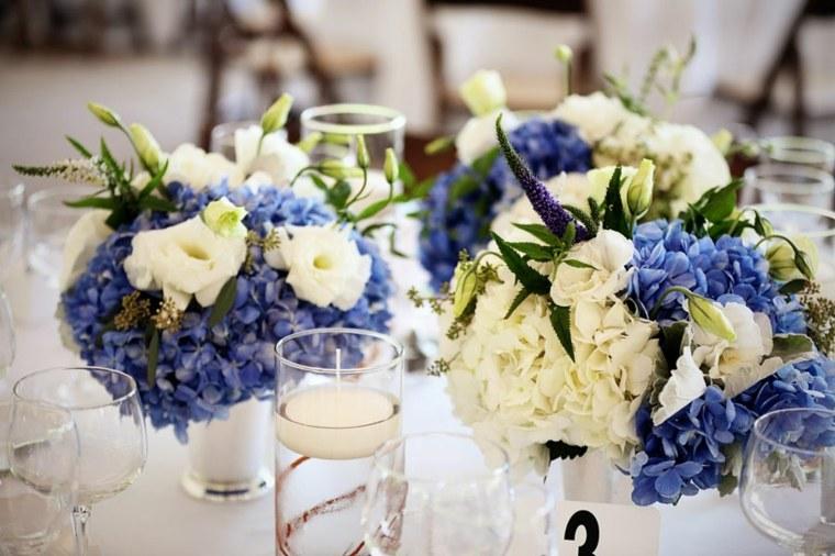 ramos florales-azul-decorar-bodas