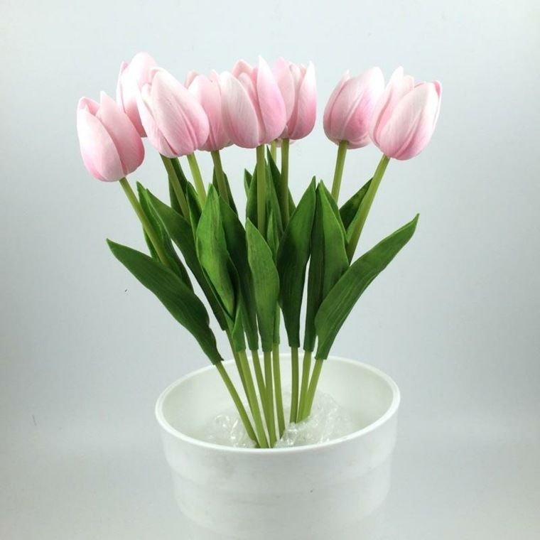 ramos florales-tulipanes-decorar-interiores