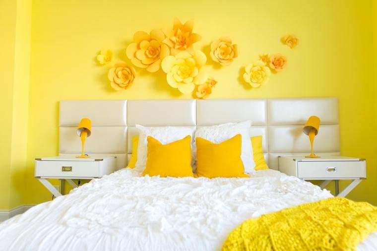 recamaras blancas-decoraciones-amarillas