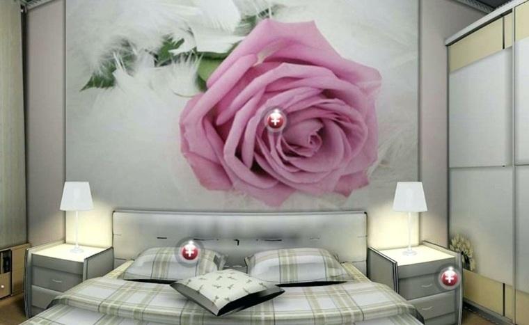 recamaras elegantes-acentos-rosas